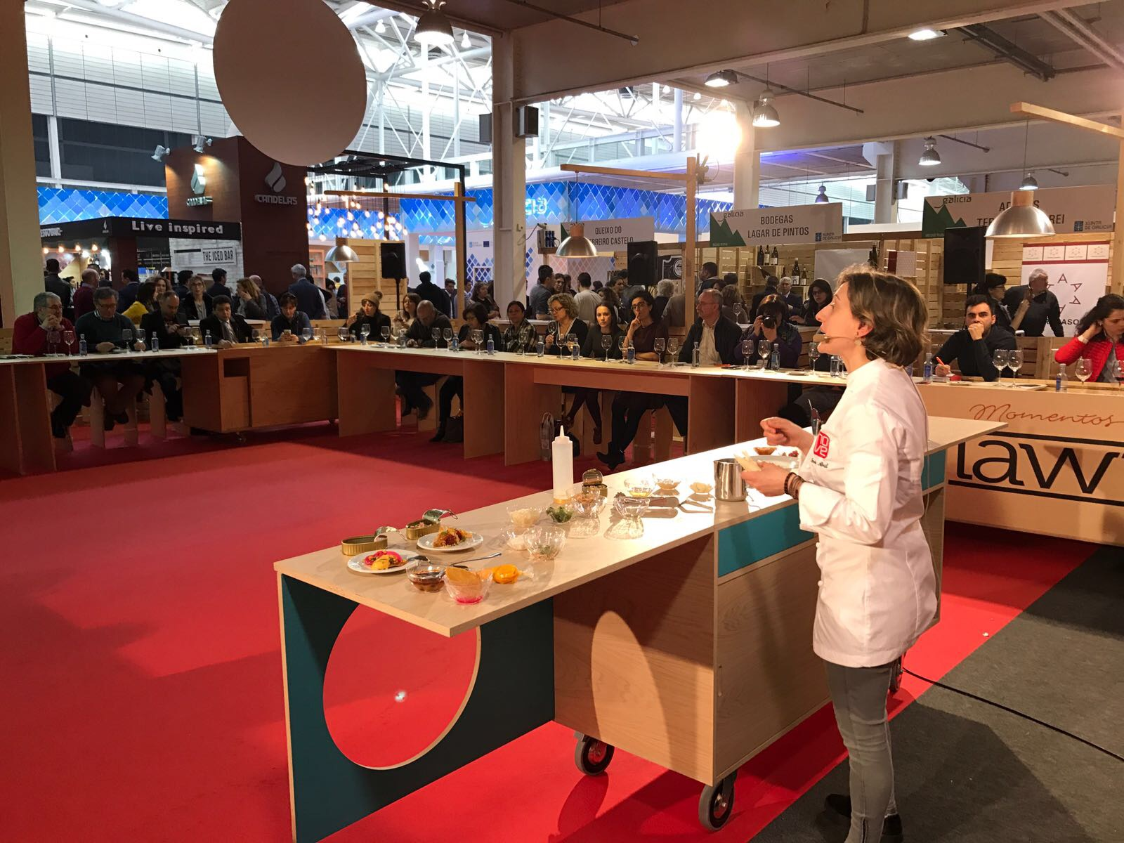"Galician canned seafood, protagonists in the ""Fórum Gastronómico 2017"" of A Coruña"