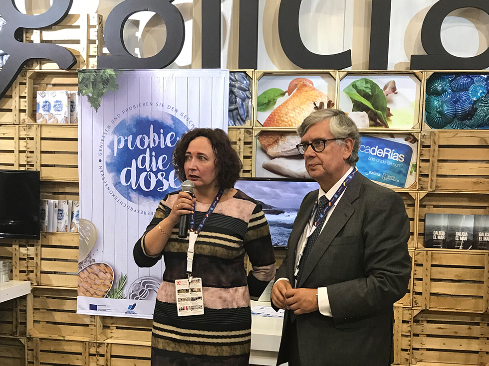 The Galician Canned fish and seafood shine in ANUGA 2017