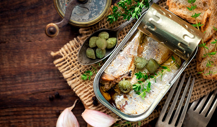Canned fish. Revolution in the luxury market