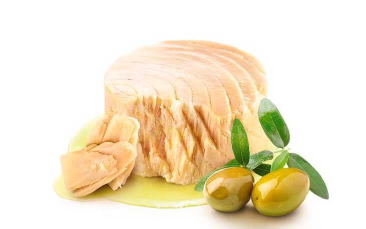 Benefits of light tuna in olive oil