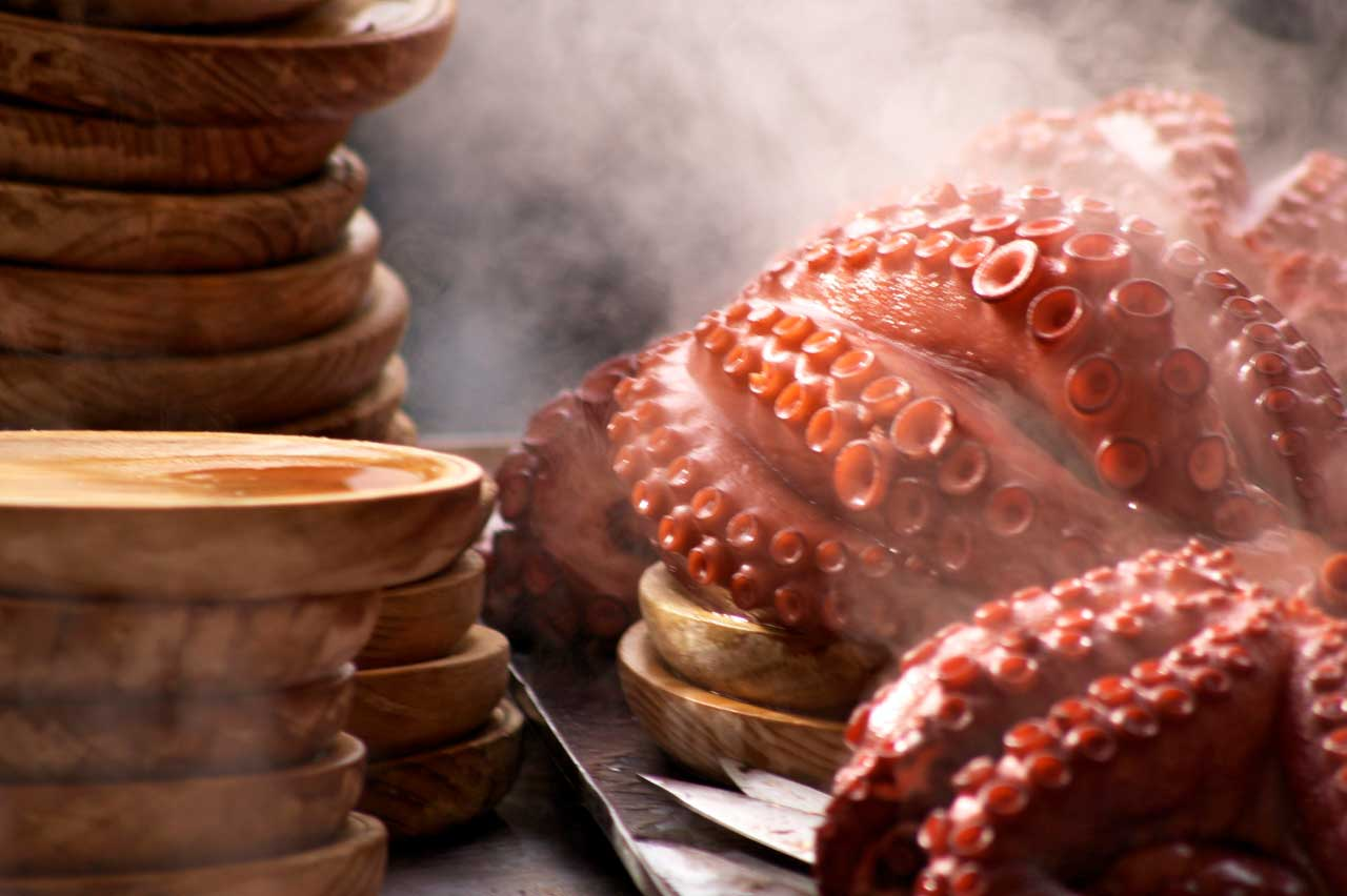 5 ways to eat octopus in Galicia