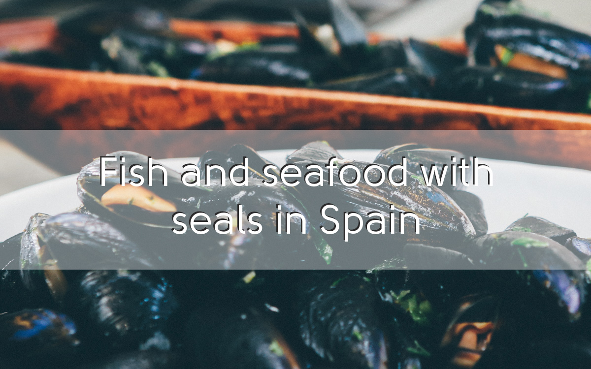 Fish and seafood with D.O.P. and I.G.P. seal in Spain