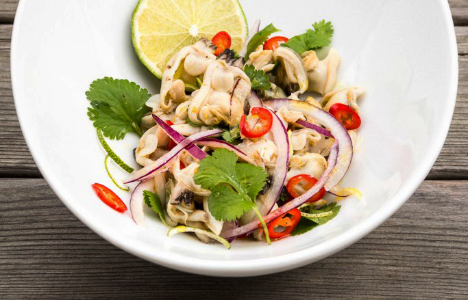 Canned Clam Ceviche