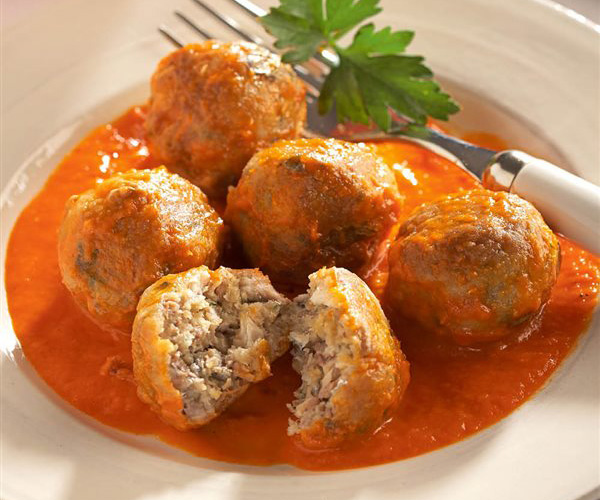 Canned sardine meatballs