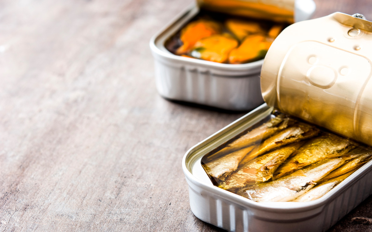 The top 5 canned fish and seafood products preferred by consumers